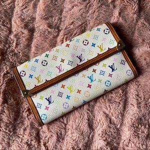 Louis Vuitton 🌈 Multicolor Porte Tresor Wallet